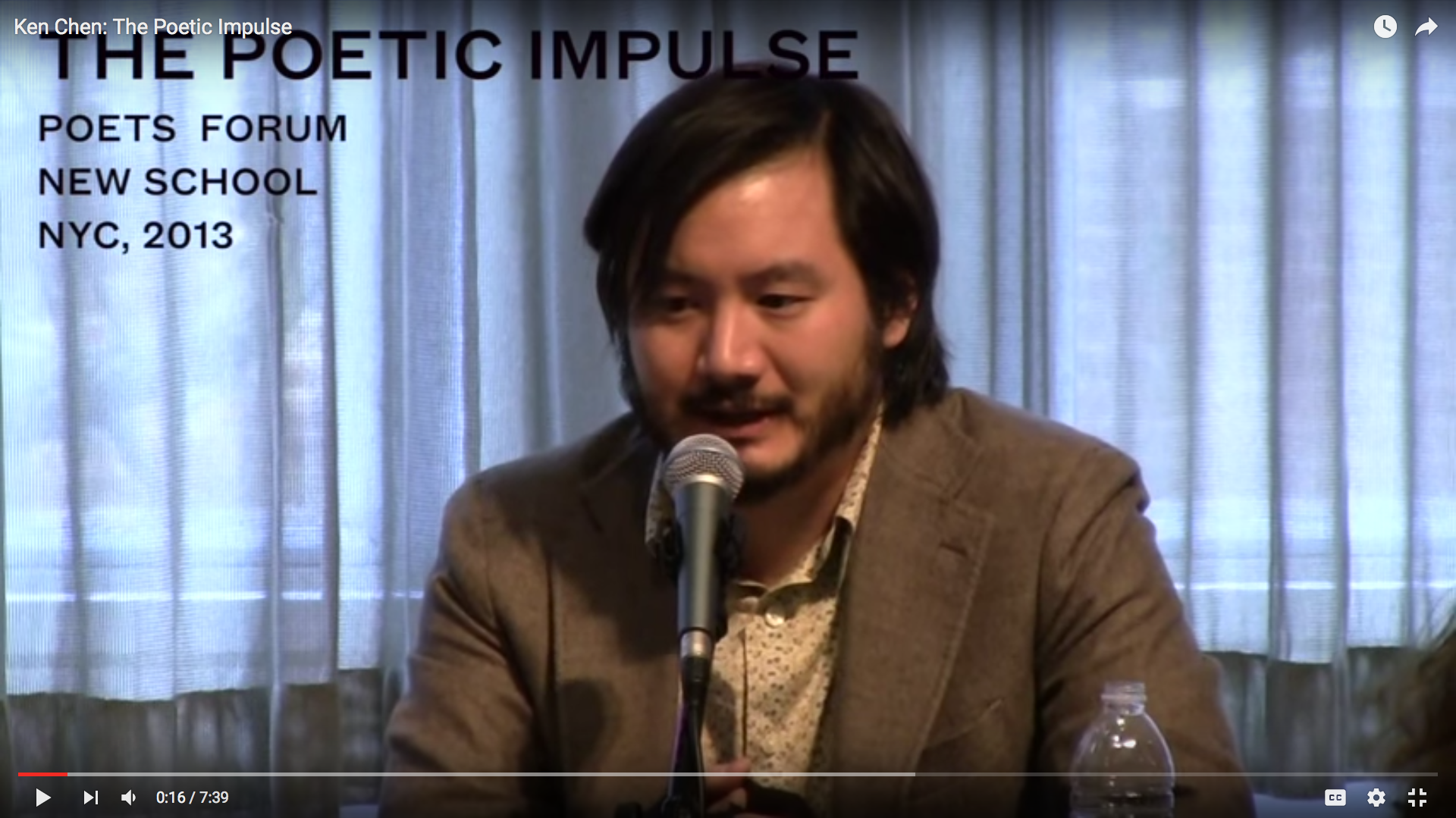 Ken Chen: The Poetic Impulse