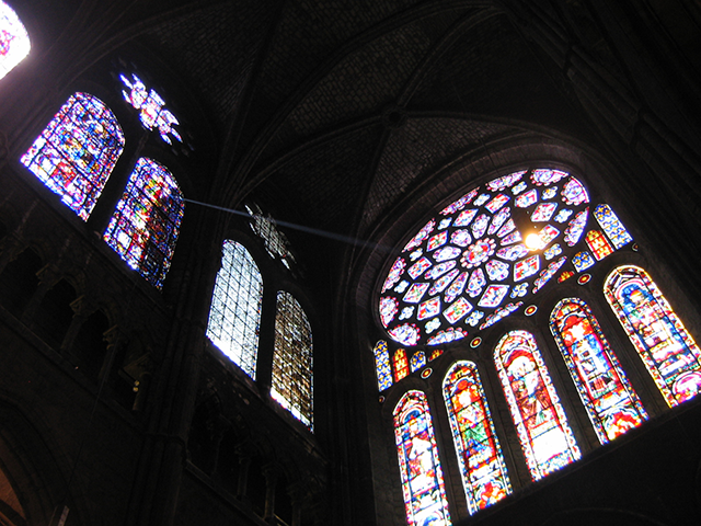 Chartres Cathedral's North Rose Window