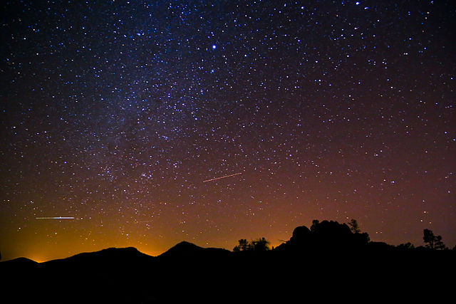 Pinnacles Night Sky
