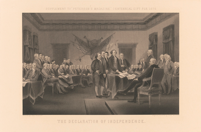 Trumball's Declaration of Independence