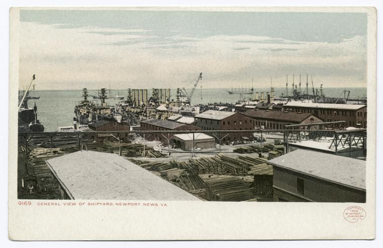 """General View, Shipyard, Newport News, Va."""