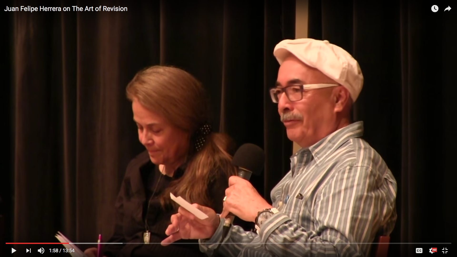 Juan Felipe Herrera on the Art of Revision