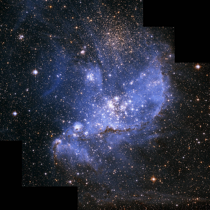 Hubble's Exquisite View of a Stellar Nursery