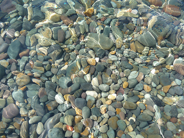 Water and Stones in the Black Sea