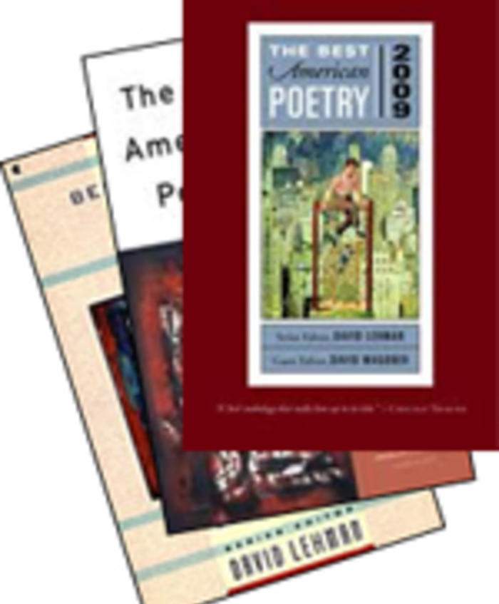 Great Anthology: Best American Poetry Series