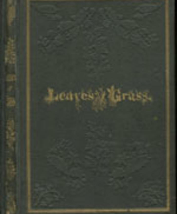 Leaves of Grass by Walt Whitman (1855)