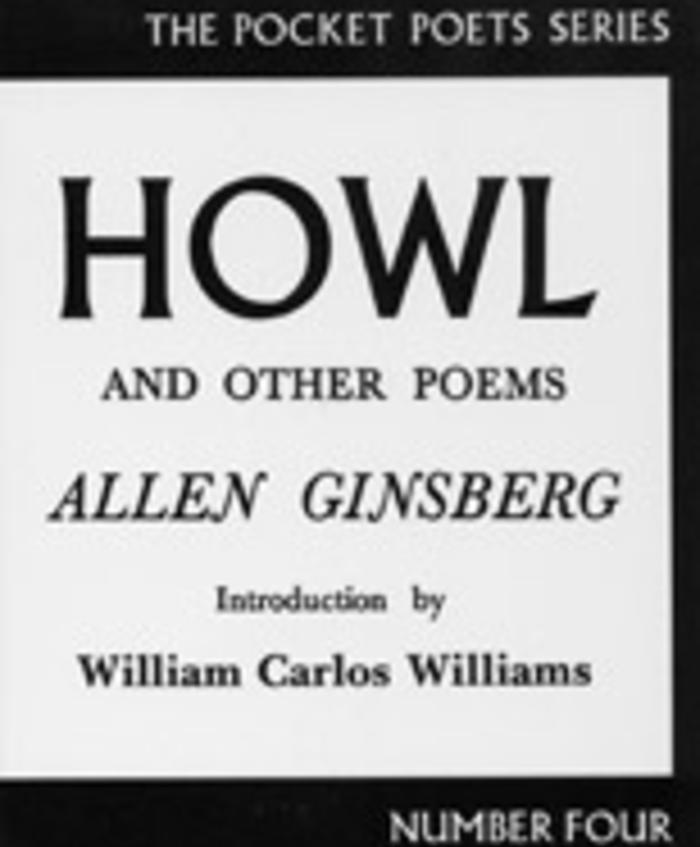 Howl and Other Poems by Allen Ginsberg (1955)