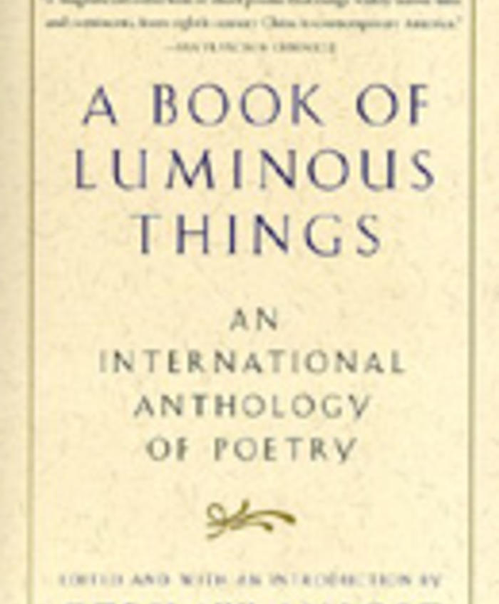 A Book of Luminous Things: An International Anthology