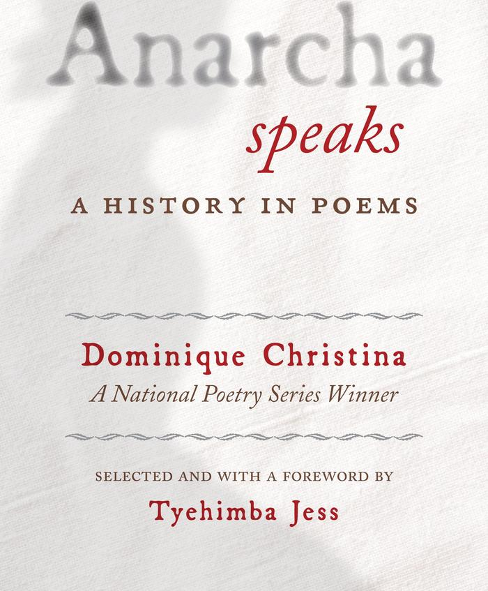 Anarcha Speaks: A History in Poems (Beacon Press, October 2018)
