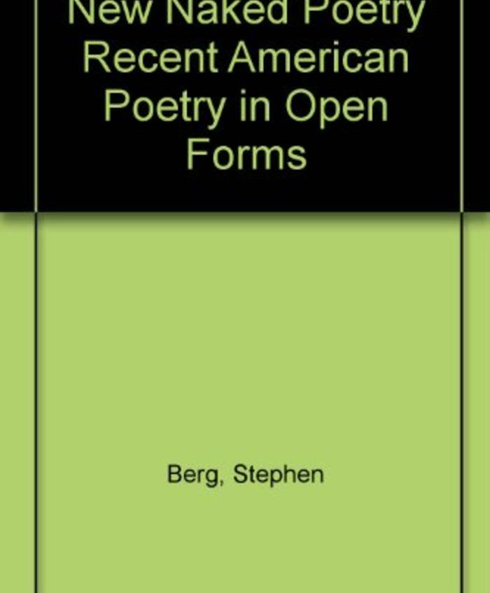 Naked Poetry and The New Naked Poetry