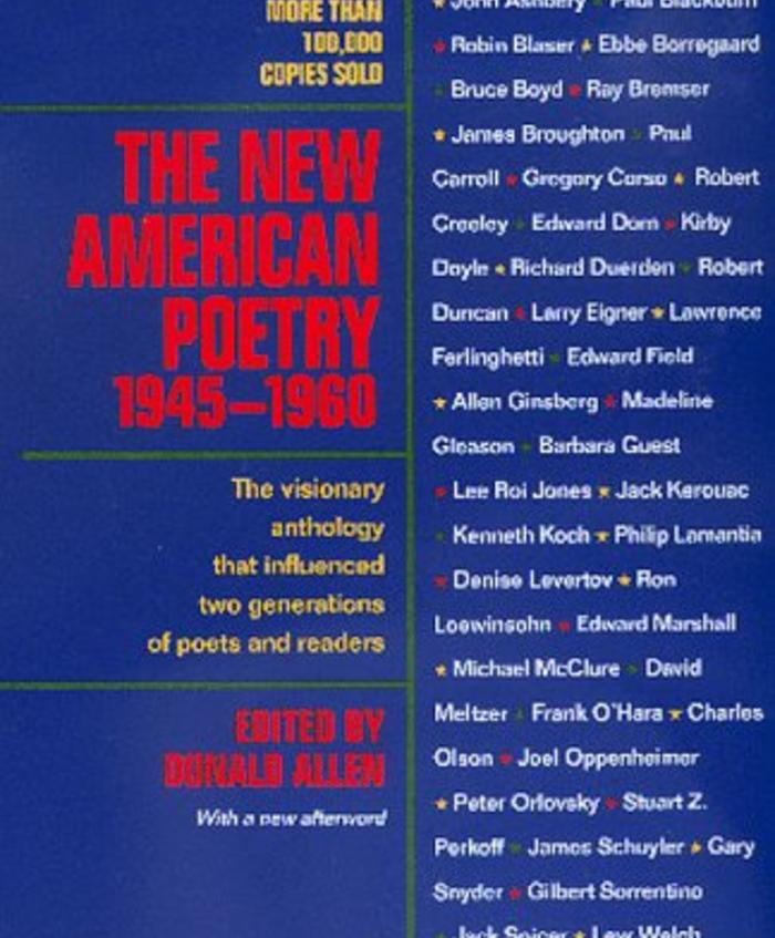 The New American Poetry: 1945-1960 | Academy of American Poets